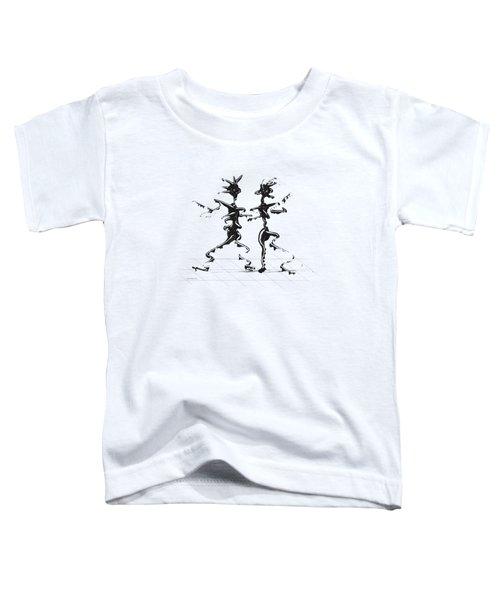 Dancing Couple 2 Toddler T-Shirt