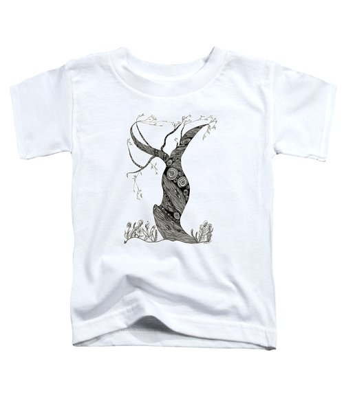 Dancing Tree Toddler T-Shirt