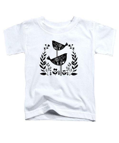 Danish Birds Of Good Luck And Good Life Toddler T-Shirt