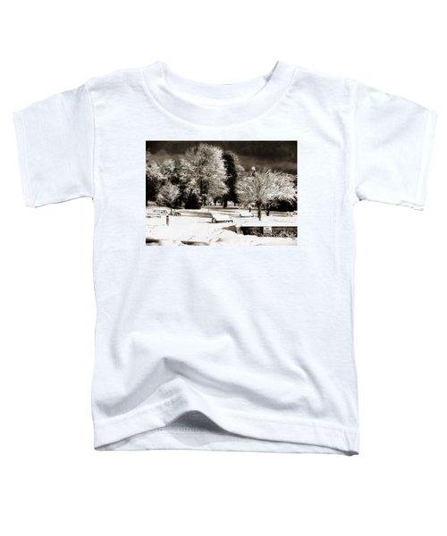 Dark Skies And Winter Park Toddler T-Shirt