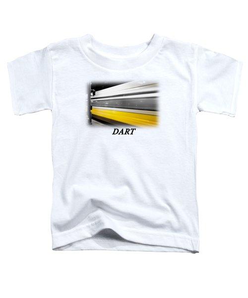 Dart Train T-shirt Toddler T-Shirt by Rospotte Photography