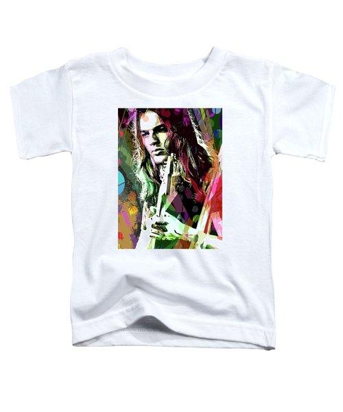 Dave Gilmour Dark Side Toddler T-Shirt
