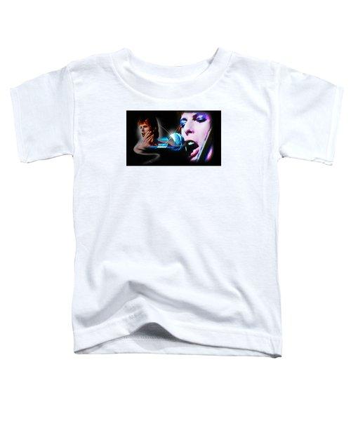 David Bowie  - Jean Genie Toddler T-Shirt