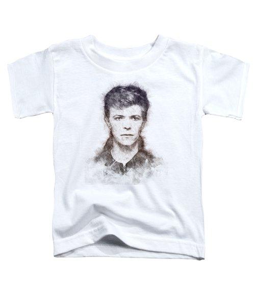 David Bowie Portrait 01 Toddler T-Shirt