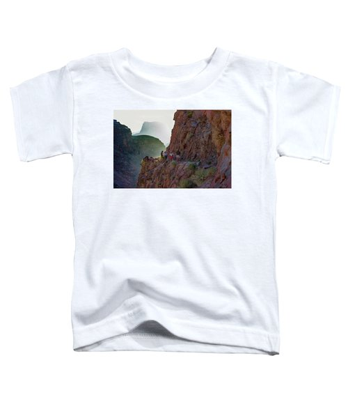 Dawn On Bright Angel Trail Toddler T-Shirt