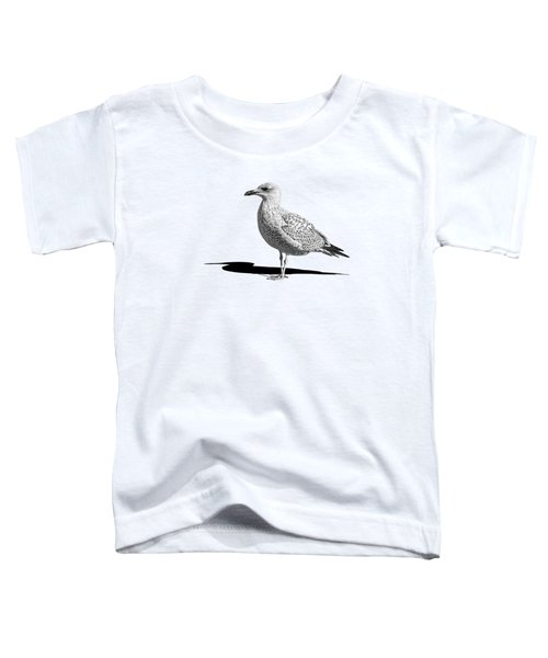 Daydreaming In Black And White Toddler T-Shirt by Gill Billington