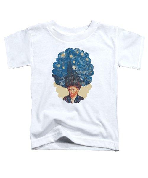 De Hairednacht Toddler T-Shirt by Mustafa Akgul