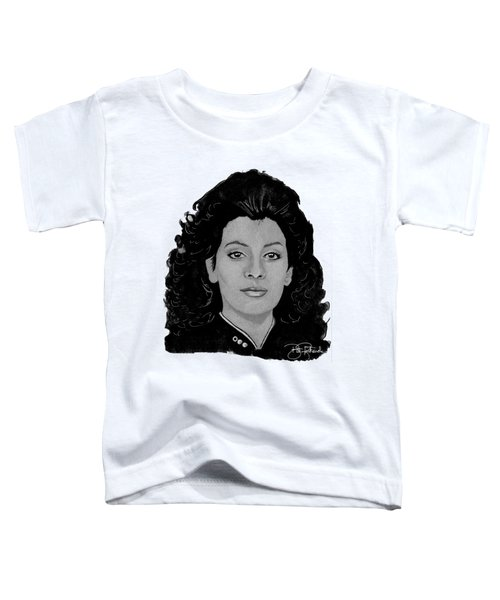 Deanna Troi Toddler T-Shirt