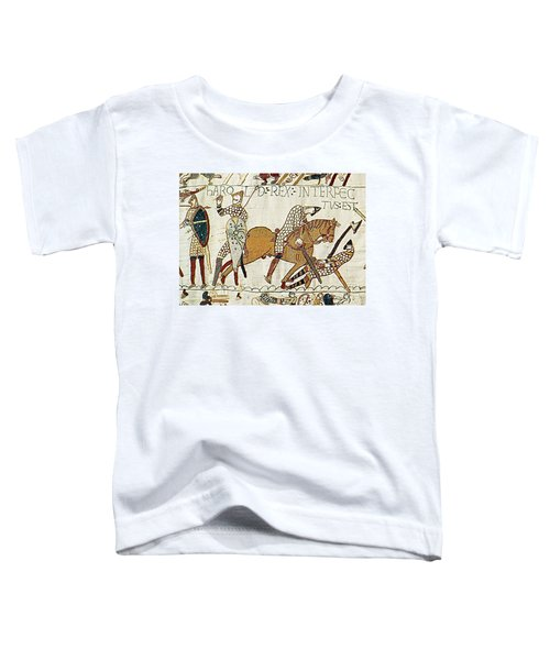 Death Of Harold, Bayeux Tapestry Toddler T-Shirt