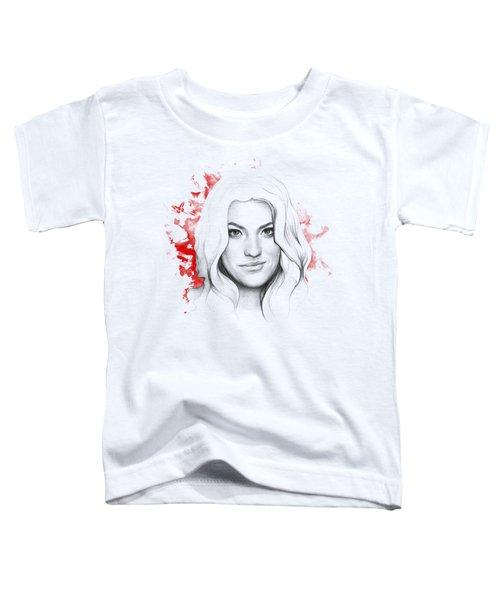 Debra Morgan - Dexter Toddler T-Shirt by Olga Shvartsur