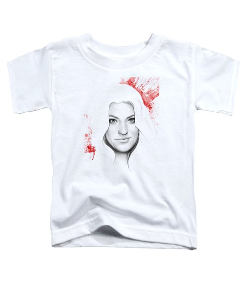 Debra Morgan Portrait - Dexter Toddler T-Shirt