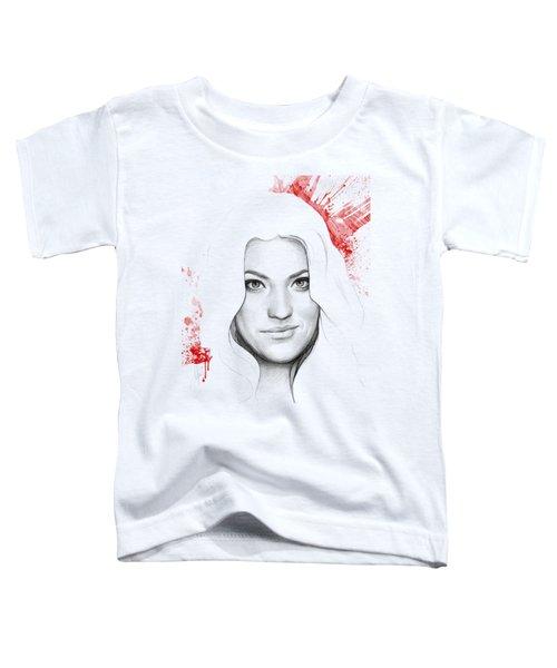 Debra Morgan Portrait - Dexter Toddler T-Shirt