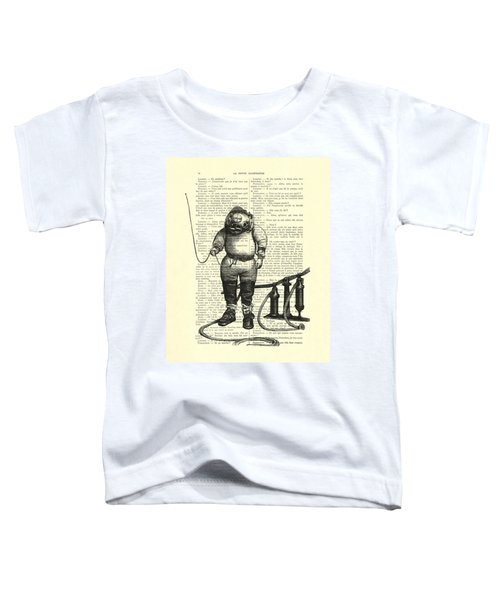 Deep Sea Diver Toddler T-Shirt