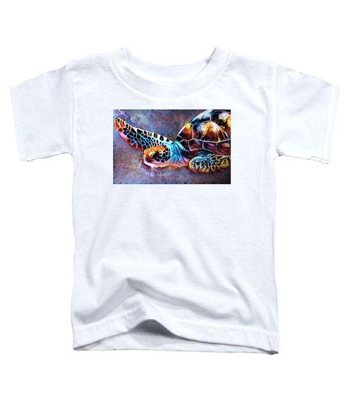 Deep Sea Trutle Toddler T-Shirt