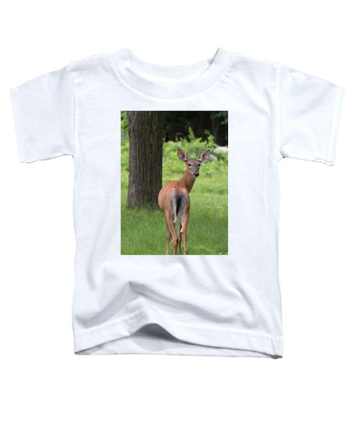 Deer Looking Back Toddler T-Shirt