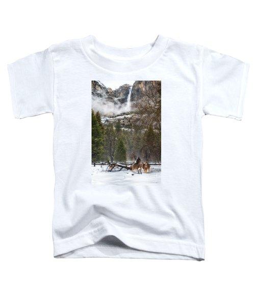 Deer Of Winter Toddler T-Shirt