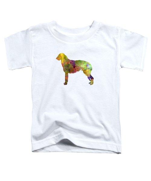 Deerhound 01 In Watercolor Toddler T-Shirt