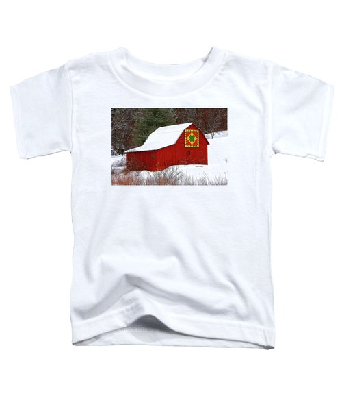 Delectable Mountains Snow Toddler T-Shirt