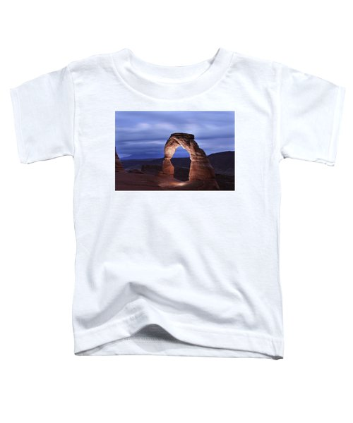 Delicate Arch At Twilight Toddler T-Shirt