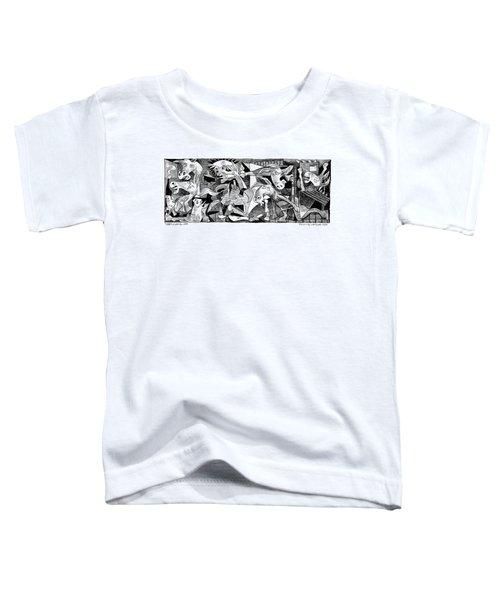 Democrat Guernica Toddler T-Shirt