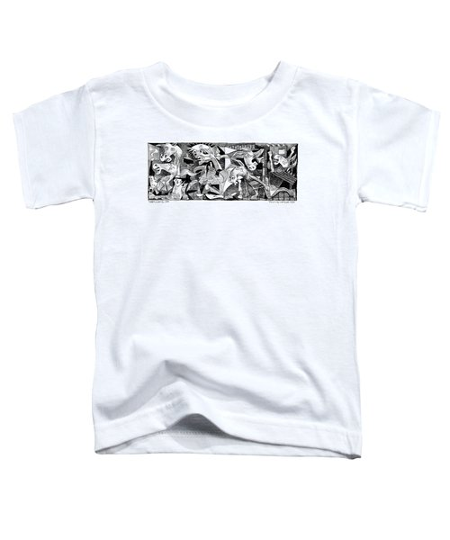 Democrat Guernica Toddler T-Shirt