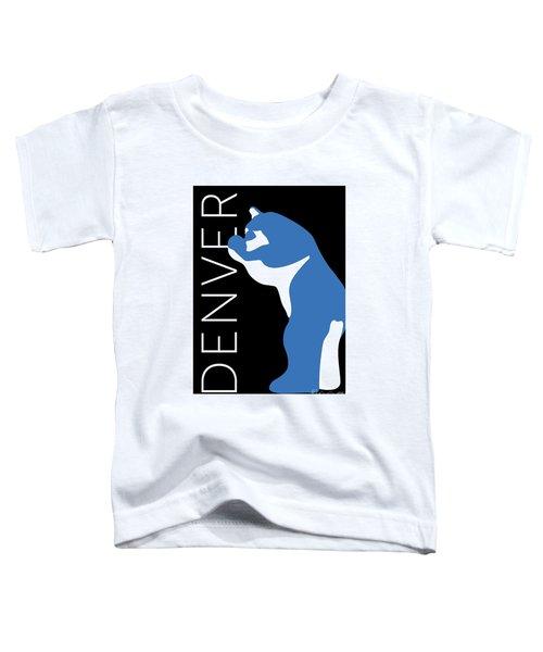 Denver Blue Bear/black Toddler T-Shirt