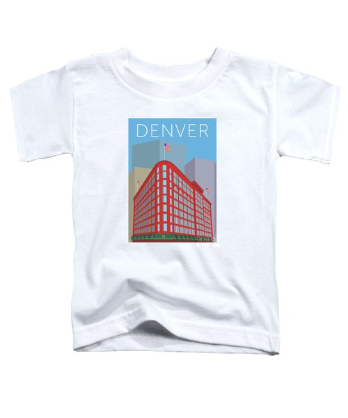 Denver Brown Palace/blue Toddler T-Shirt