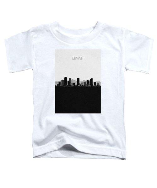 Denver Cityscape Art Toddler T-Shirt