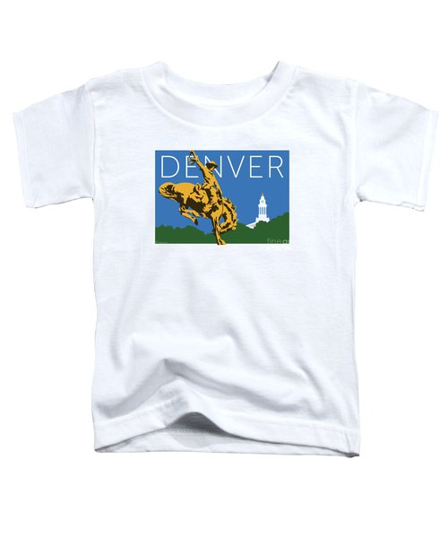 Denver Cowboy/dark Blue Toddler T-Shirt
