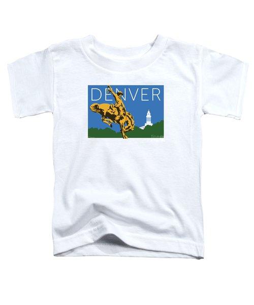 Denver Cowboy/dark Blue Toddler T-Shirt