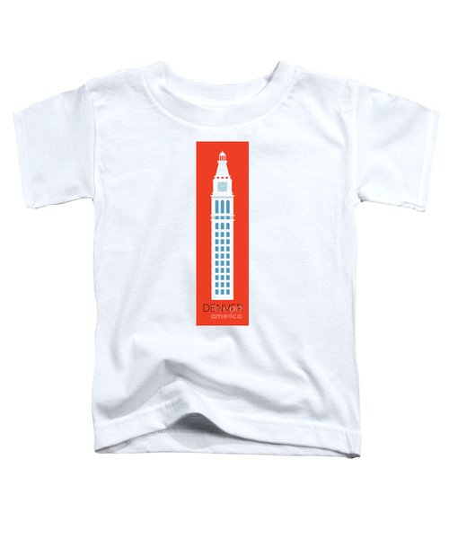 Denver D And F Tower/tall Toddler T-Shirt
