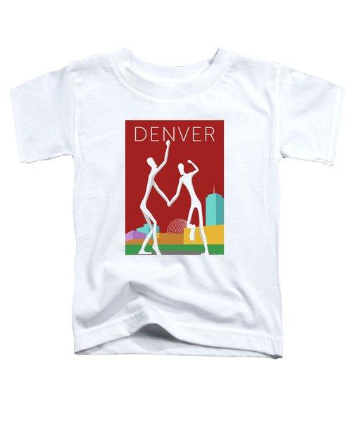 Denver Dancers/maroon Toddler T-Shirt