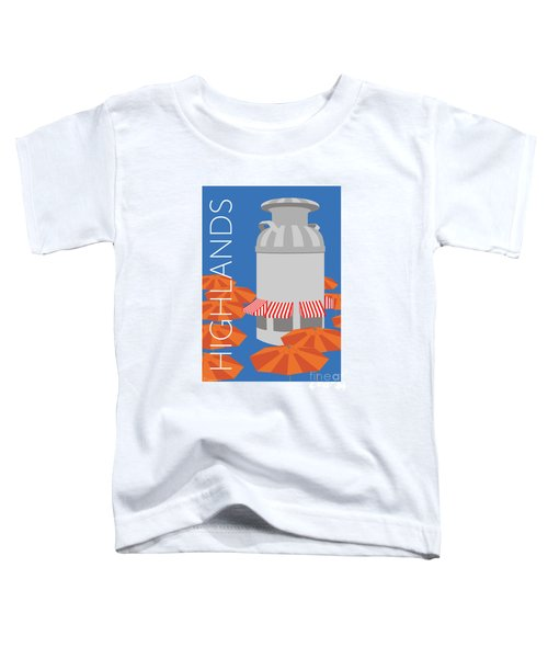 Denver Highlands/blue Toddler T-Shirt