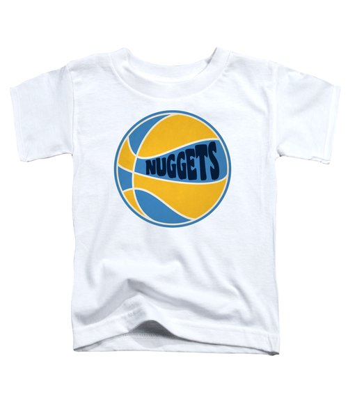 Denver Nuggets Retro Shirt Toddler T-Shirt