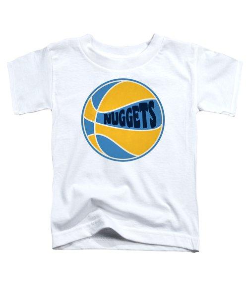 Denver Nuggets Retro Shirt Toddler T-Shirt