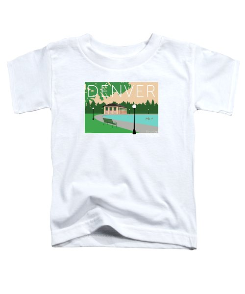 Denver Washington Park/beige Toddler T-Shirt