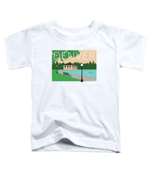 Denver Washington Park/beige Toddler T-Shirt