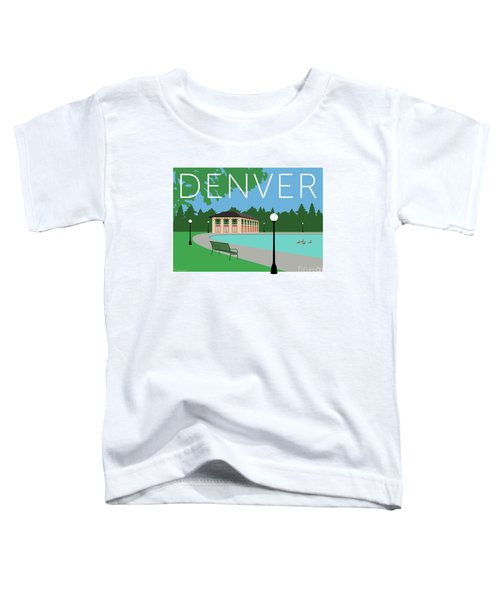 Denver Washington Park/blue Toddler T-Shirt
