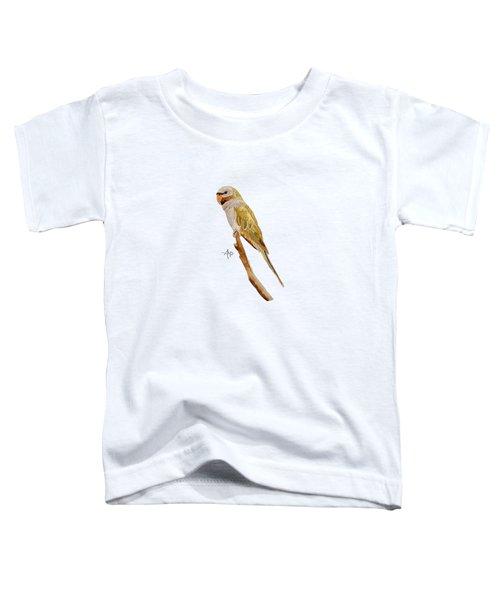 Derbyan Parakeet Toddler T-Shirt