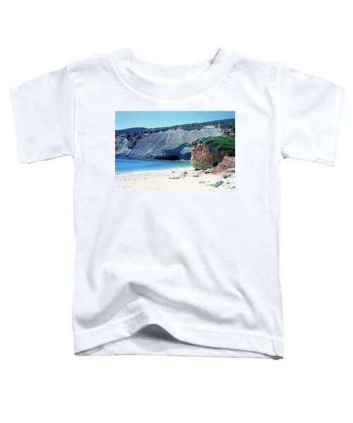 Desolated Island Beach Toddler T-Shirt