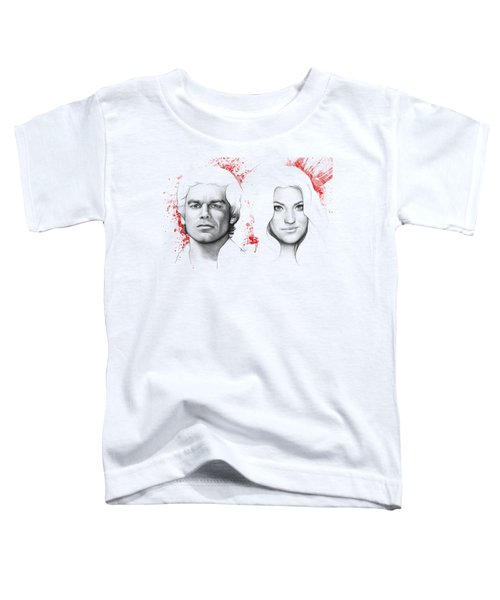 Dexter And Debra Morgan Toddler T-Shirt
