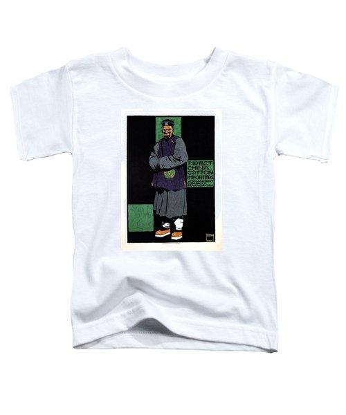 Direct China Cotton Importer - Wonalancet Company - Vintage Advertising Poster Toddler T-Shirt