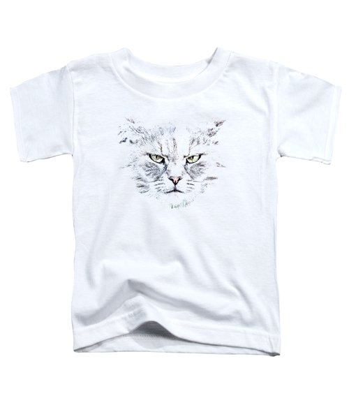 Disturbed Cat Toddler T-Shirt
