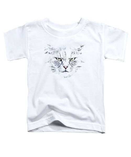 Disturbed Cat Toddler T-Shirt