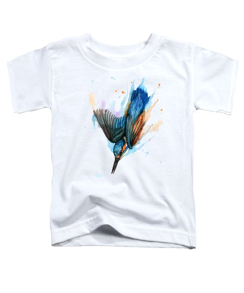Diving Kingfisher Toddler T-Shirt