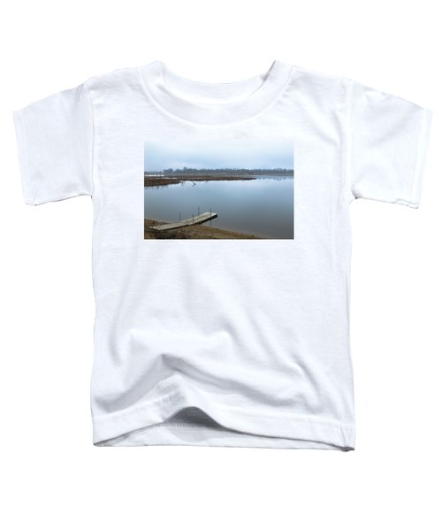 Dock On A Serene Lake Toddler T-Shirt