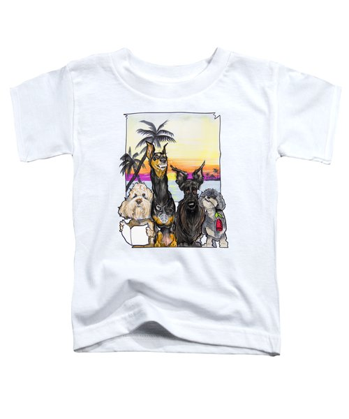 Dog Island Getaway Toddler T-Shirt