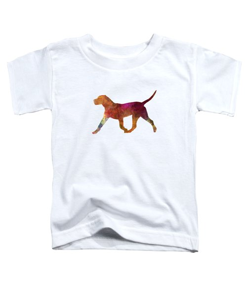Dogo Canario In Watercolor Toddler T-Shirt by Pablo Romero
