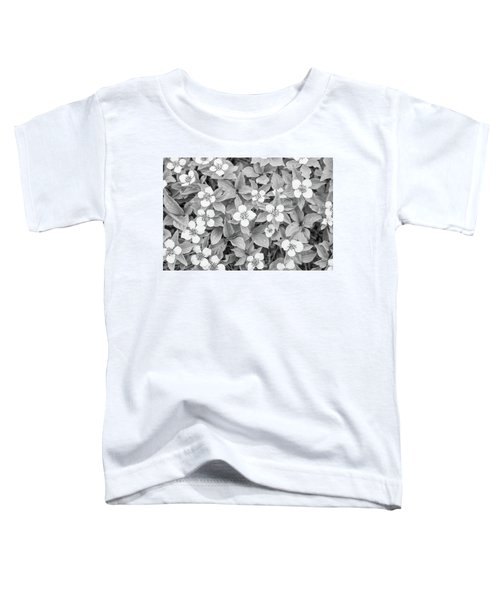 Dogwood In The Rain Toddler T-Shirt