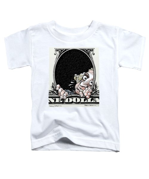 Dollar Fear Toddler T-Shirt